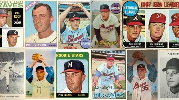 1960s Phil Niekro Baseball Cards Didn't Know They Were Legends