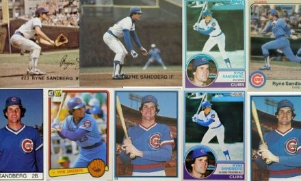The Starting 9 of Ryne Sandberg Rookie Cards