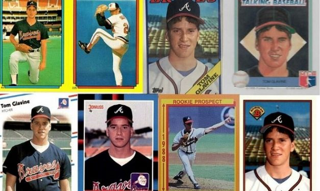 Tom Glavine Rookie Cards Cast Their Uneasy Smiles on the Hobby