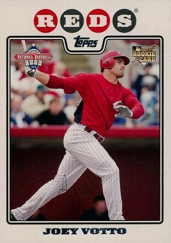 2008 Topps National Baseball Card Day Joey Votto