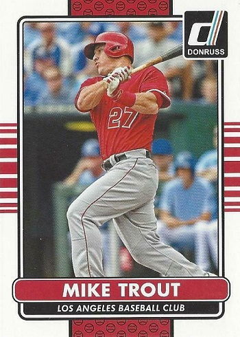 2015 Panini Donruss Mike Trout