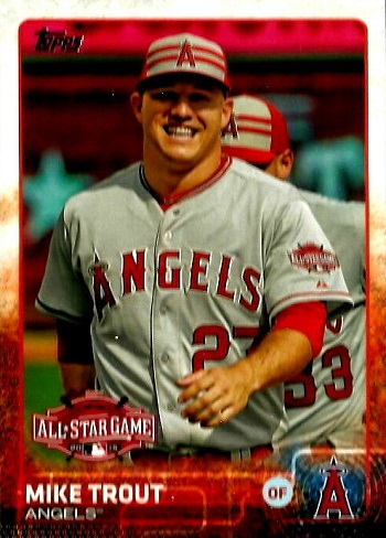 2015 Topps Update All-Star Game Mike Trout