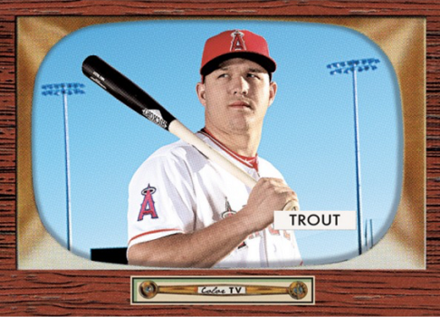 2016 Topps Throwback Mike Trout