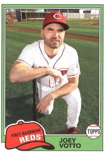 2018 Topps Archives Joey Votto
