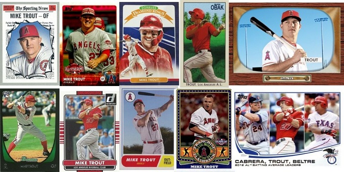 10 Mike Trout Baseball Cards Even Old-School Collectors Can Love