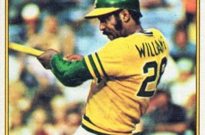 7 Degrees of Coolness with 1976 Topps Billy Williams