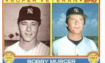 This Bobby Murcer Card Washed Away the Years