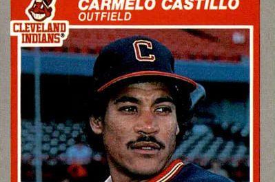 1985 Fleer Carmelo Castillo Was Dancing on the Ceiling