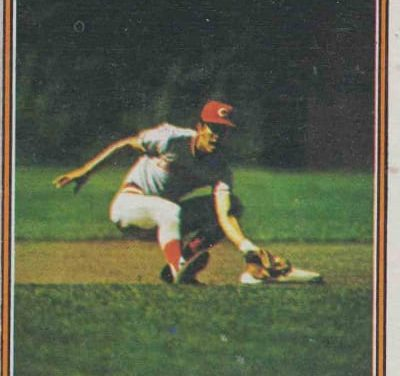 Worlds Collide on the 1974 Topps Dave Concepcion Baseball Card