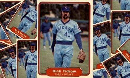 Fleer Hated Dick Tidrow