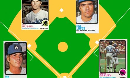 Frankensteining History with 1973 Topps and the Dodgers Infield