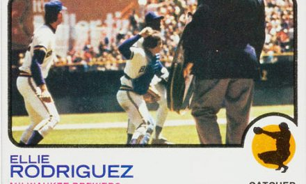 Ellie Rodriguez Baseball Cards … Right Place, Right Time