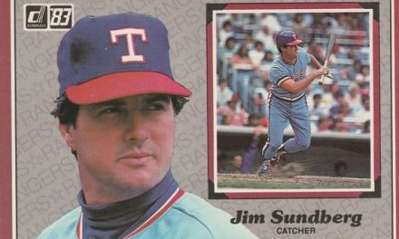 This Card Proved Jim Sundberg Was a Star