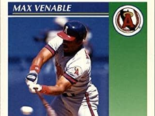 The Venerable 1992 Score Max Venable Card