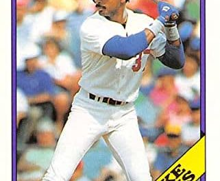 Living Well with 1988 Topps Traded Mike Davis