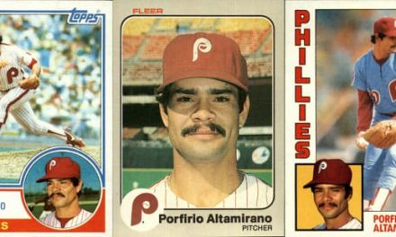 Old Age and Porfirio Altamirano Baseball Cards