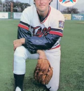 1985 BRF Minnesota Twins Tom Klawitter and Time Mastery