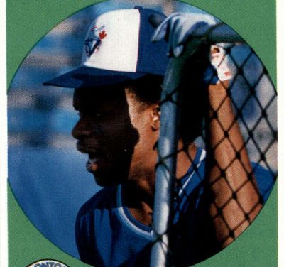 1989 Baseball Cards Magazine Tony Fernandez Waits in the Shadows