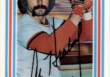 1976 Kellogg's Al Hrabosky Had Mercy on Our Souls