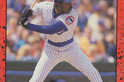 1990 Donruss Aqueous Test Andre Dawson Shines in Disguise