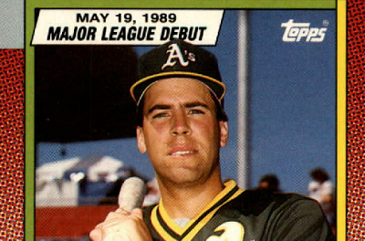 1990 Topps Major League Debut Dick Scott a Singular Cardboard Beauty