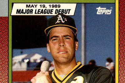1990 Topps Major League Debut Dick Scott a Singular Cardboard Beauty