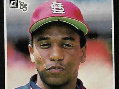 1985 Donruss Jeff and Terry Pendleton … Nearly Identical Twin RCs