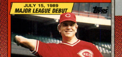 1990 Topps Major League Debut Joe Oliver Got There Just in Time