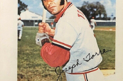 1973 Topps Pin-Ups Joe Torre Looks Familiar