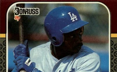 1987 Donruss Opening Day Mike Ramsey Captured His Moment