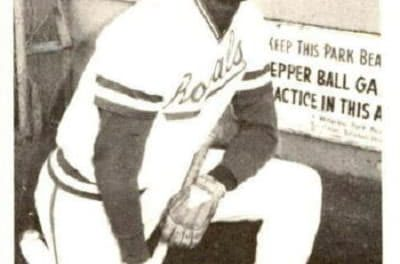1975 TCMA Waterloo Royals Willie Wilson No Big Loss