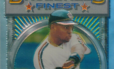 1993 Finest Albert Belle Refractor a Mashup of History Makers