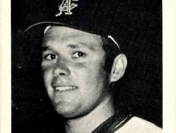 1969 Jack in the Box California Angels Andy Messersmith Held a Surprise
