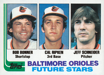 1982 Donruss Bob Bonner Tried to Help