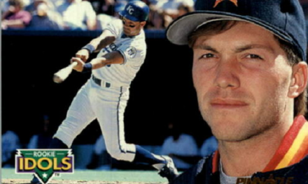 1992 Pinnacle Rookie Idols Gary Cooper Baseball Was Dreamy