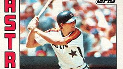 1984 Topps George Bjorkman Had a Chance