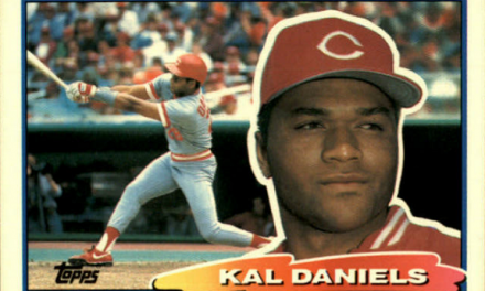 1988 Topps Big Kal Daniels Had Big Expectations