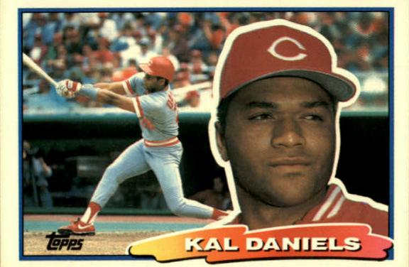 1988 Topps Big Kal Daniels Had Big Expectations