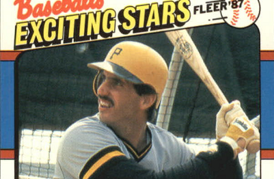 1987 Fleer Baseball's Exciting Stars Sid Bream Knew the Score