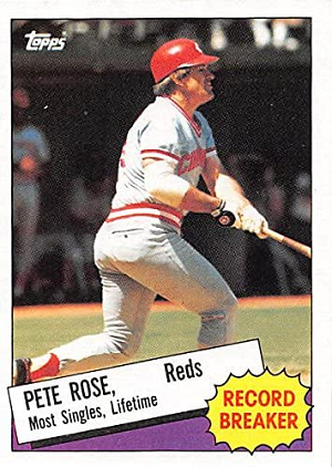 1985 Topps Pete Rose Record Breaker