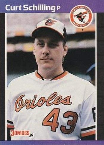 1989 Donruss Curt  Schilling