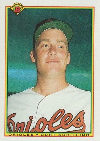 1990 Bowman Curt  Schilling