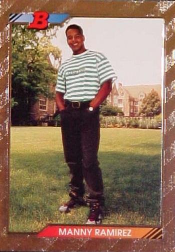 1992 Bowman Foil Manny  Ramirez