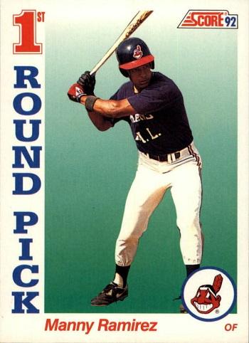 1992 Score Manny  Ramirez