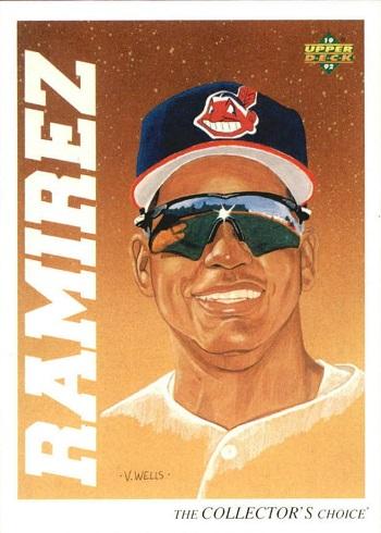 1992 Upper Deck Minor League Manny  Ramirez