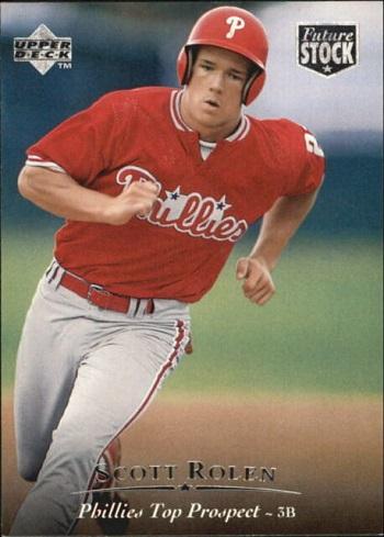 1995 Upper Deck Minor League Future Shock Scott  Rolen