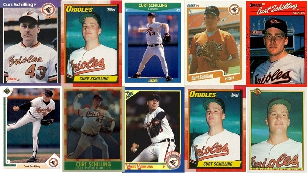 10 Curt Schilling Rookie Cards To Suit Any (Junk Wax) Taste