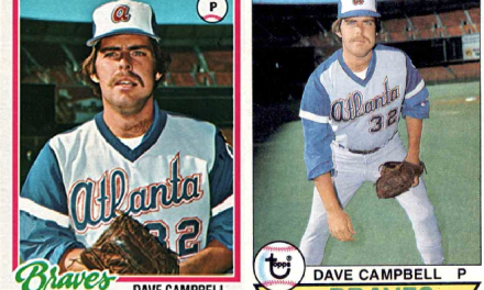 1978 Topps and 1979 Topps Dave Campbell – Not What You'd Imagine