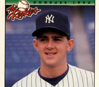 1992 Donruss 'The Rookies' Mike Draper Broke the Mold