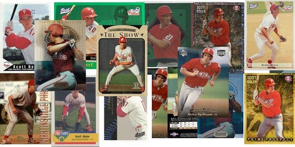 16 Early Scott Rolen Baseball Cards Worthy of Cooperstown